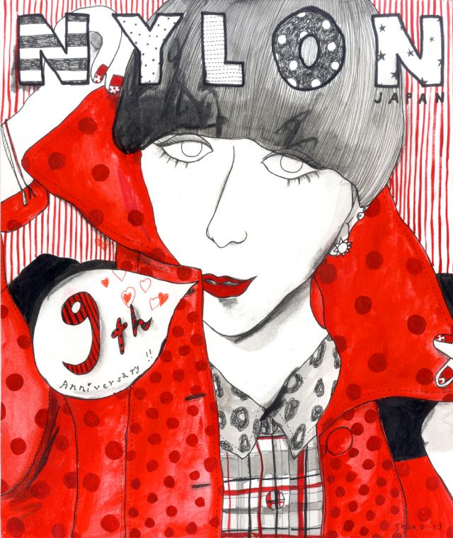 [CULTURE] 人気16アーティストがNYLONカバーをリメイク! - NYLON JAPAN