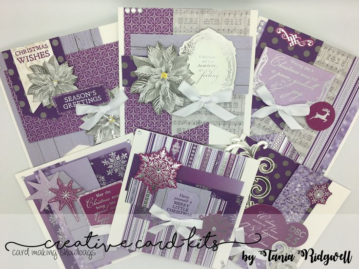August Creative Card Kit -Christmas Jewel