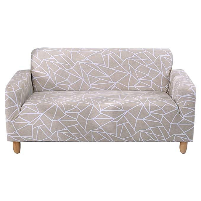 Amazon Com Forcheer Stretch Sofa Slipcover Printed Pattern 3 Seat