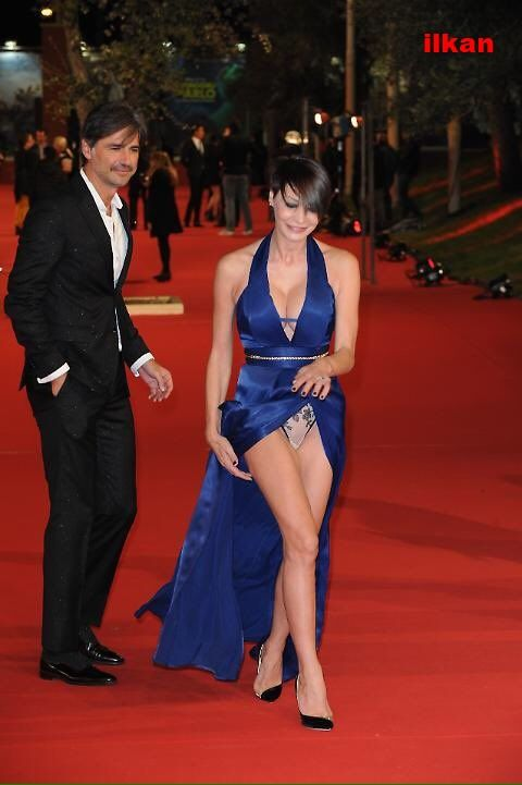 Also Red Carpet Action For Samantha Capitoni Italian Actress