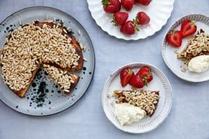 Jeremy Lee's almond cake recipe with strawberries and cream | King of puddings | Life and style | The Guardian