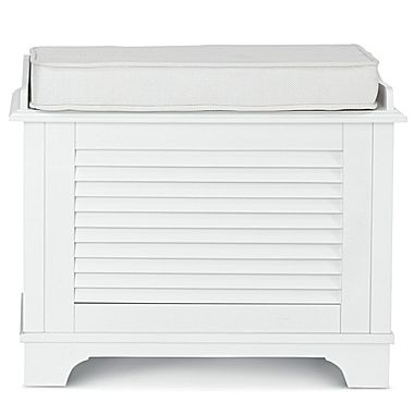Hamper Louvered Bench Jcpenney Perfect For Caroline 39 S Bedroom Laundry Ideas Pinterest
