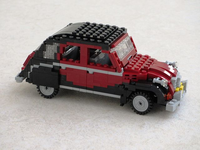Citroen 2CV Charleston #flickr #LEGO #MOC #car