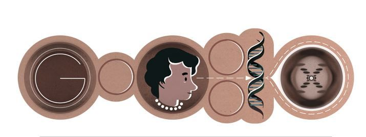 you've probably seen todays google art work (15th July) Its Rosalind Elsie Franklin's birthday. This incredible British biophysicist and X-ray crystallographer made critical contributions to the understanding of the fine molecular structures of DNA, RNA, viruses, coal, and graphite. If you are interested in learning more check out this blog post on the 2011 World Science Festival. #womenInscience