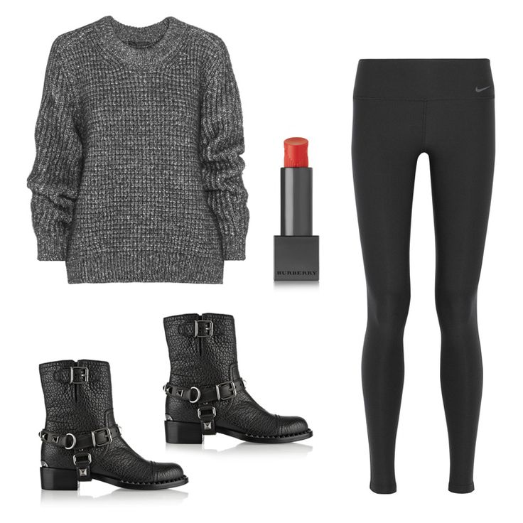 """""""Having a fantastic pair of leggings is essential. If you're running off to something after the gym, you can just put on a great sweater or a great top and you look chic and pulled together."""""""