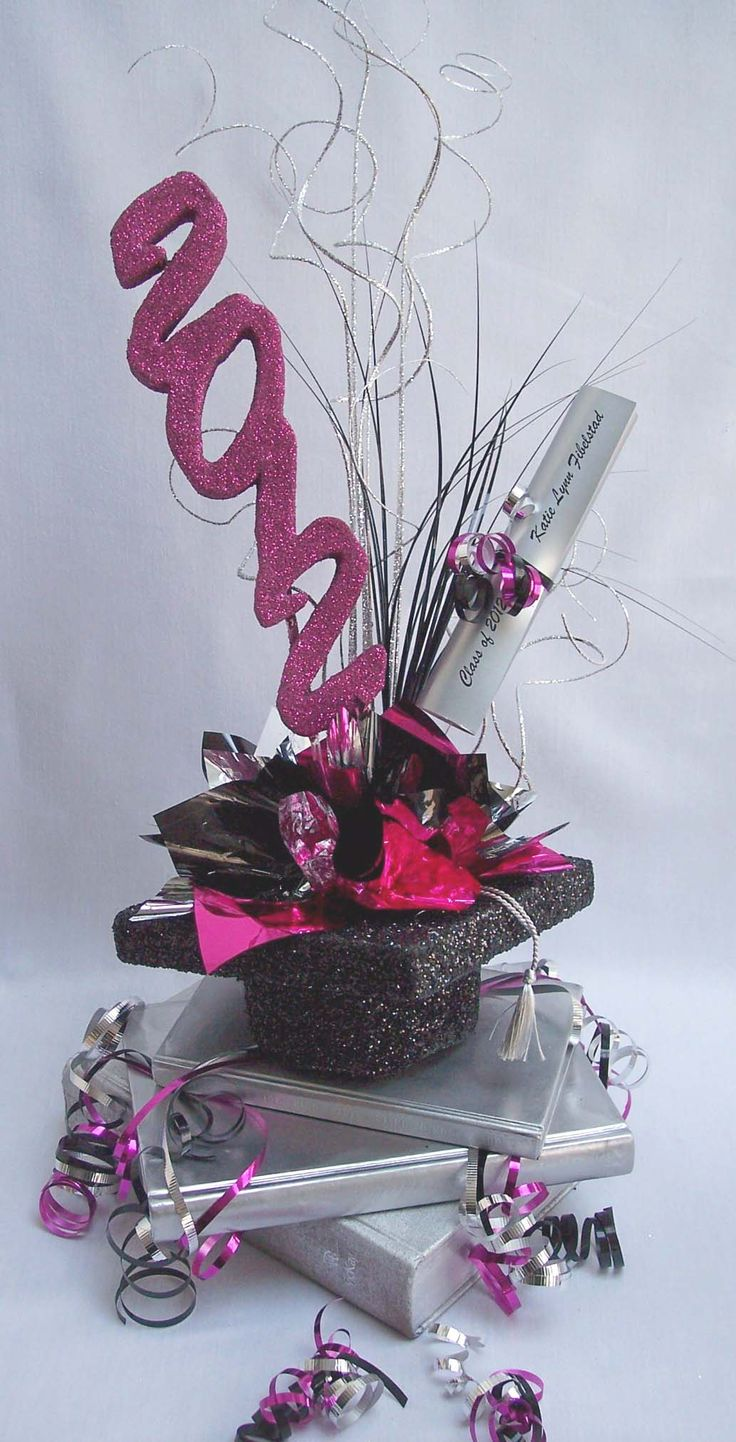 Ideas about graduation table centerpieces on