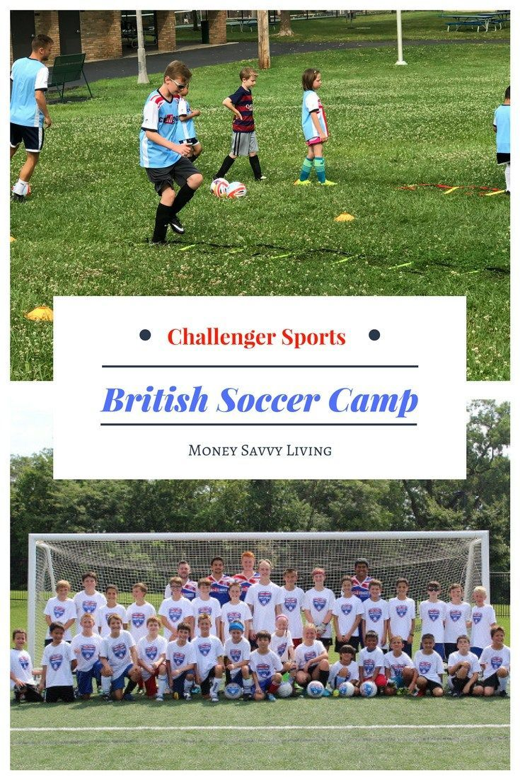 Challenger Sports British Soccer Camps // Money Savvy Living #soccer #camp
