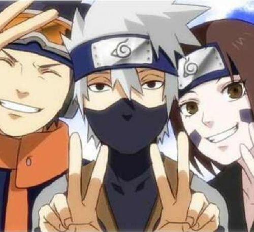 Naruto Kakashi Dies Naruto. Kakashi, Rin, ...