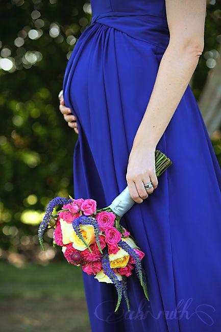 beautiful pregnant bridesmaid - tyler & emily's intimate morning wedding ceremony » Abi Ruth