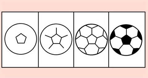 draw soccer ball image search | Soccer crafts, Soccer ...