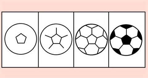 draw soccer ball image...