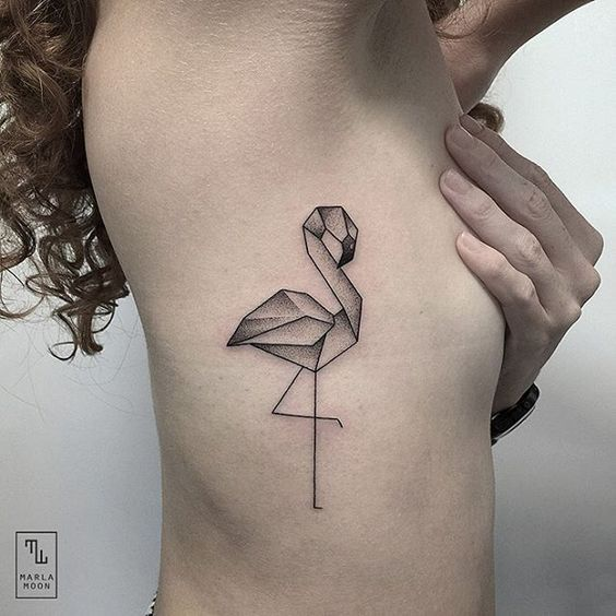 Vous êtes une fan de nature et d'animaux ? Voici 30 idées de tatouages vraiment canons en l'honneur de la faune. Focus : tatouage flamand rose.