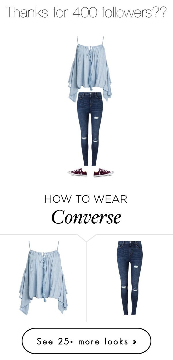 """Untitled #375"" by kylie897 on Polyvore featuring Sans Souci, Miss Selfridge and Converse"