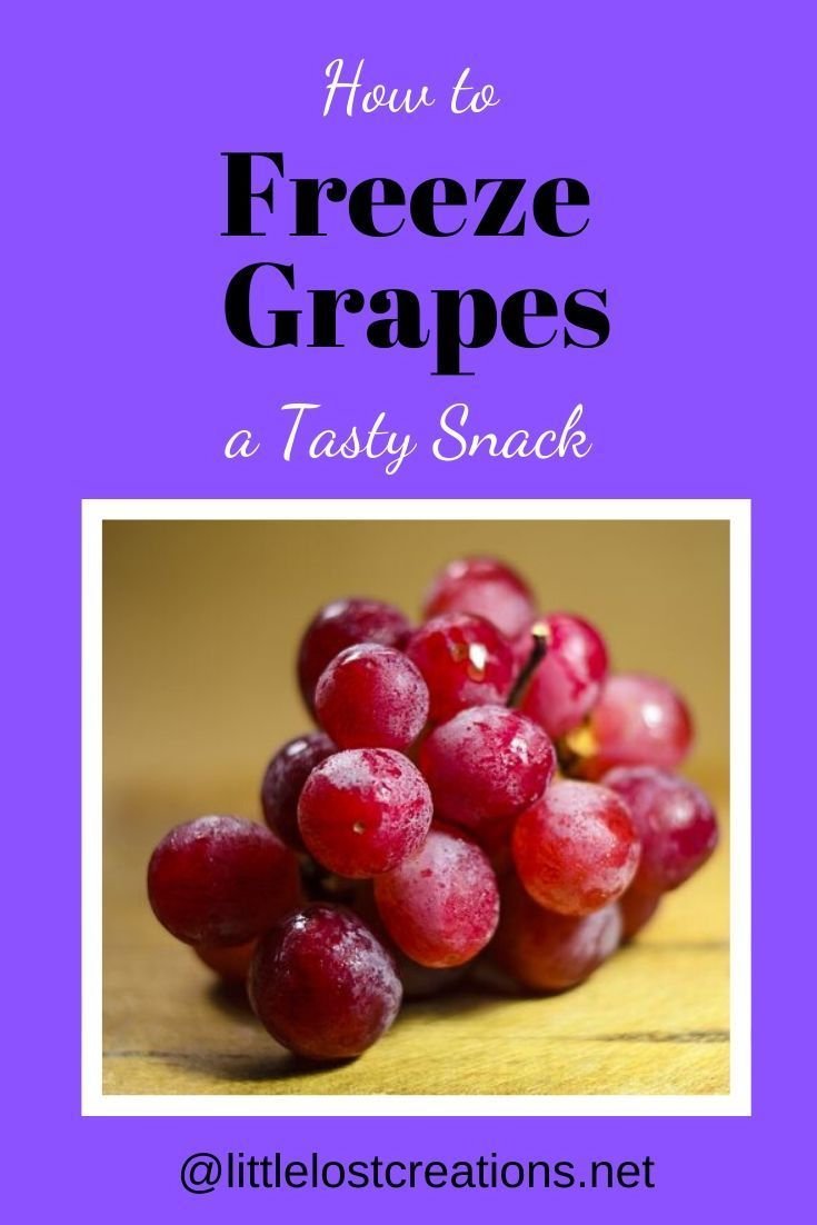 How To Freeze Grapes Great Snack Frozen Grapes Snacks Yummy Snacks