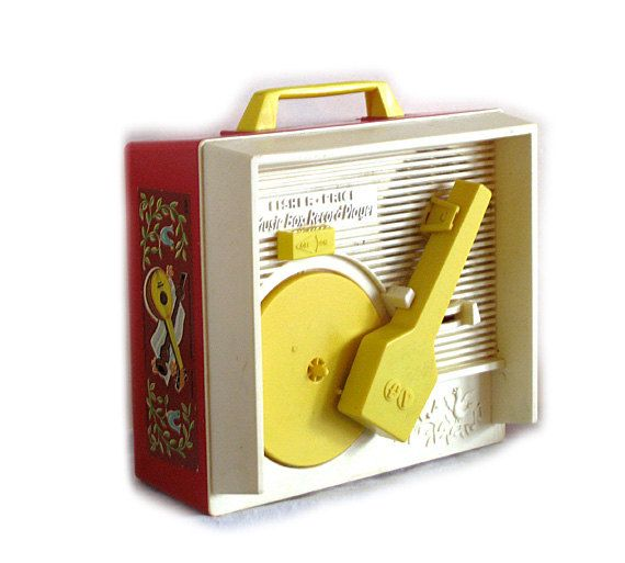 Fisher Price Record Player Music Box by janejohn on Etsy