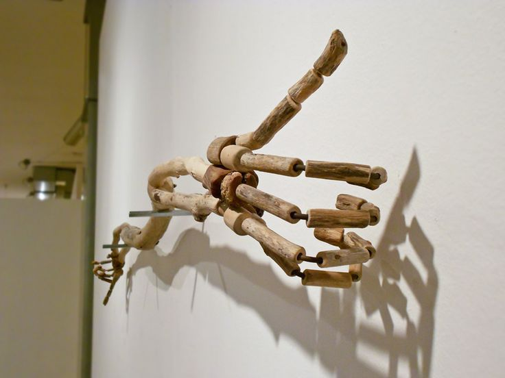 Giovanni Longo, Epic / driftwood, iron and metal supports, 2012... https://www.facebook.com/giovannilongo.art / fragile skeletons sculpture scultura wood legno art arte