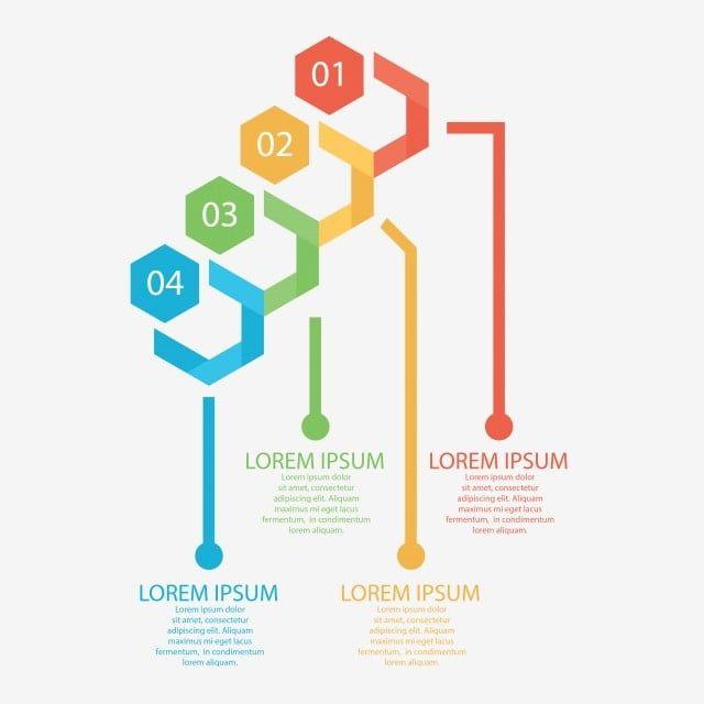 قوالب تصميم رسومي ملون مخطط معلومات بياني عناصر رسومي إنفوجراف Png والمتجهات للتحميل مجانا Infographic Templates Template Design Design