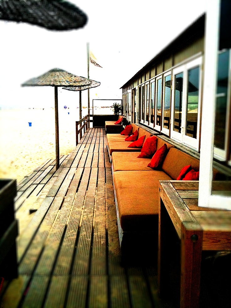 """Beachclub Offshore, Bergen aan Zee, the Netherlands.    Many many summers of drinking, eating, hanging out, parties etc etc at this wonderful place. Wish they had """"beachclubs"""" here in Oz."""