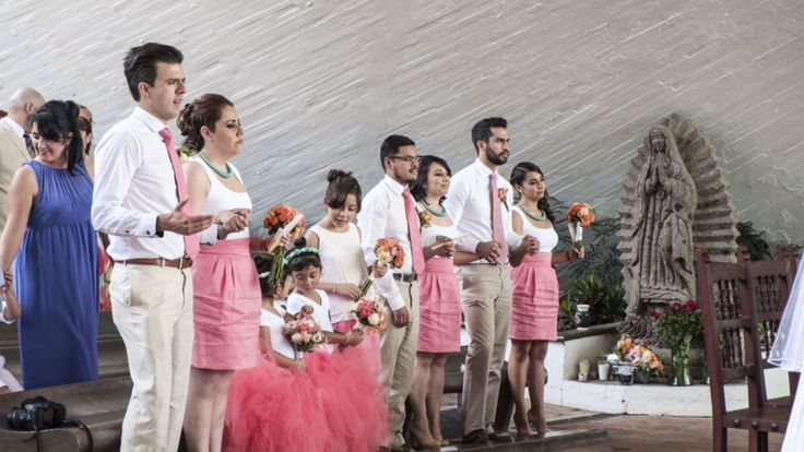 WeddingProcession, Cortejo Nupcial, Padrinos