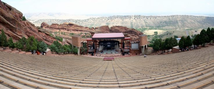 Red Rocks Amphitheatre.  If you haven't been...GO!