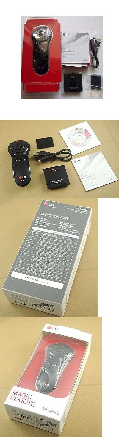 Remote Controls: Genuine Lg An-Mr400 Magic Motion Remote Control For 2013 Lg Smart Tvs (An-Mr400) -> BUY IT NOW ONLY: $65.54 on eBay!
