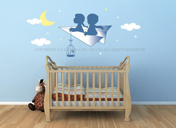 Wall decals kids Wall Stickers Bambini Adesivi Murali Nursery