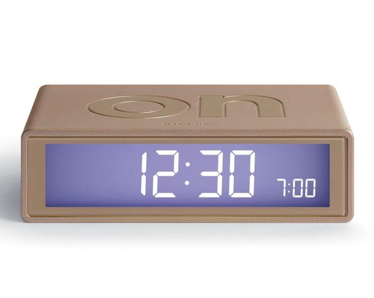 FLIP Alarm Clock (gold)