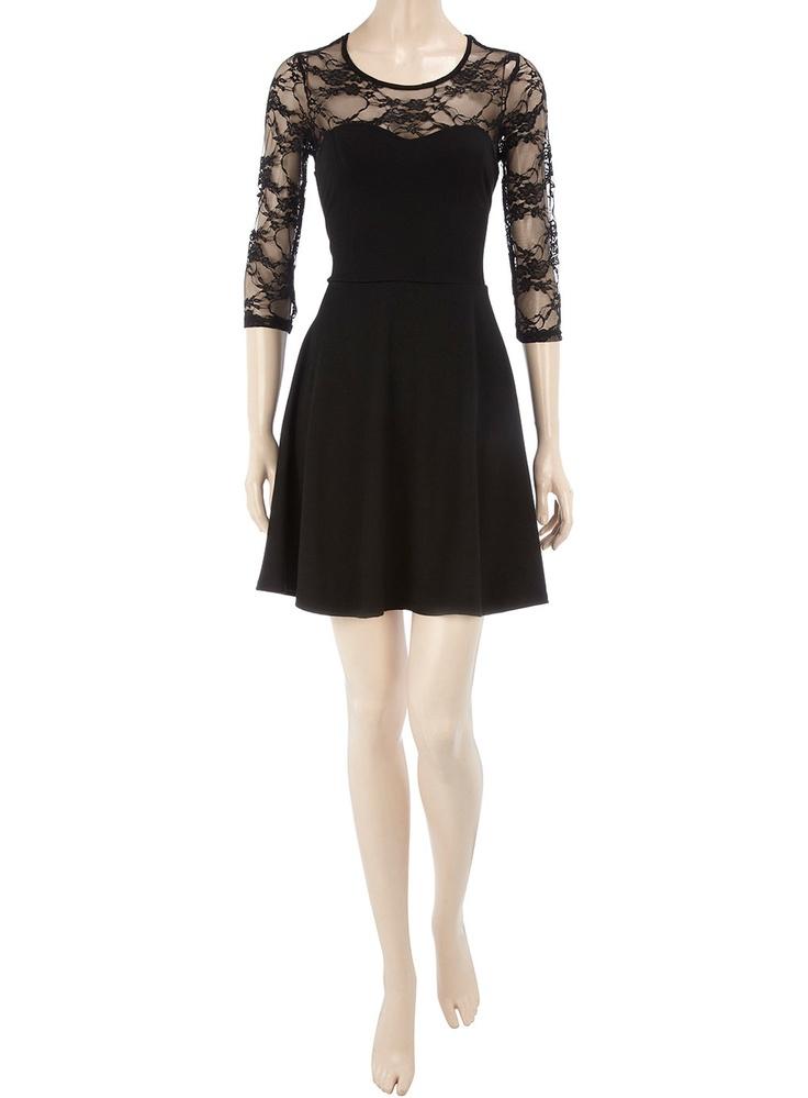 Black lace dressBlouses Style, Homecoming Dresses, Fashion Dresses, Black Laces, Dresses Anniversaries, Simple Black, Little Black Dresses, Black Lace Dresses, Lace Details