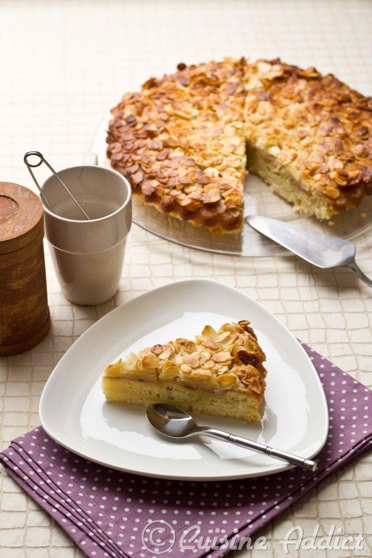 Gâteau ultra moelleux à la Crème et aux Amandes / Almonds & Cream Cake