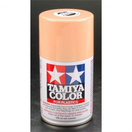 Buy your Tamiya Spray Lacquer TS77 Flat Flesh 2 3 oz (TAM85077) at RC Planet and save on all our Tamiya parts and accessories.