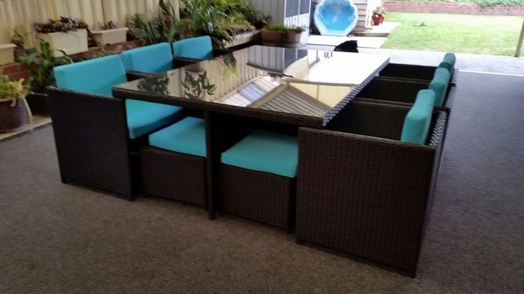 Lake Valencia 10 Seat Dining Set. Only for Perth. We are located at Wangara, WA.