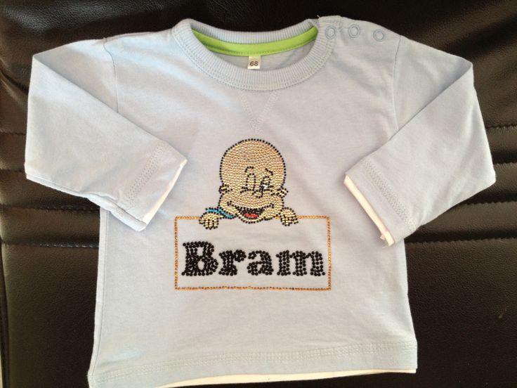 Hotfix shirt baby bram