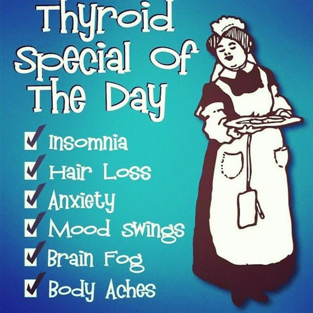 This is sooo true :/ the symptoms of thyroid problems
