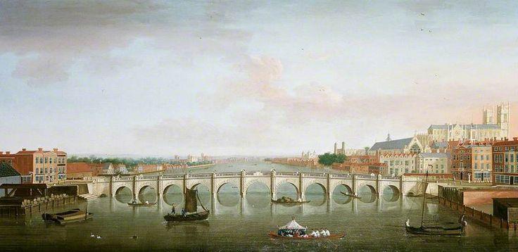 'Westminster Bridge' by Antonio Joli (circle of). #PaintedLondon