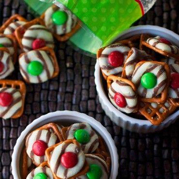 Holiday Pretzel Bites