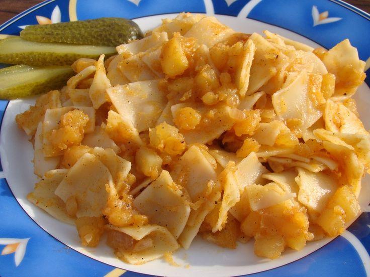 Krumplis tészta recept
