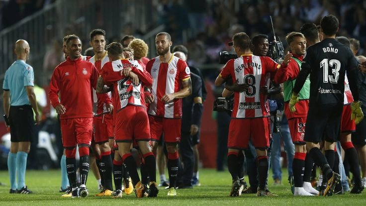 La Liga match report – Girona cause upset of the season vs Real Madrid #News #CristhianStuani #CristianoRonaldo #Football #Girona