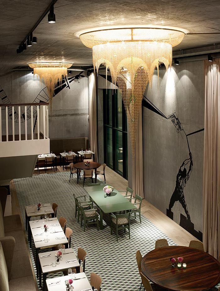 Restaurant bebek zurich switzerland foto david willen for Interior design zurich switzerland