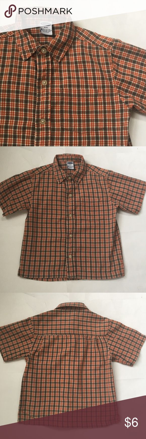 Old Navy shirt Excellent used condition Size 4/5 or XS Old Navy Shirts & Tops Button Down Shirts