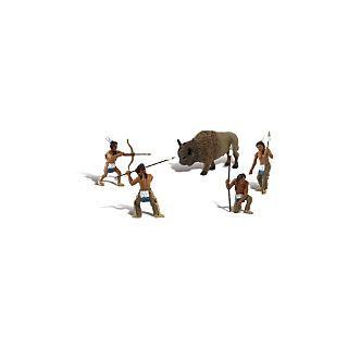 Native American Hunt Scene Setters®