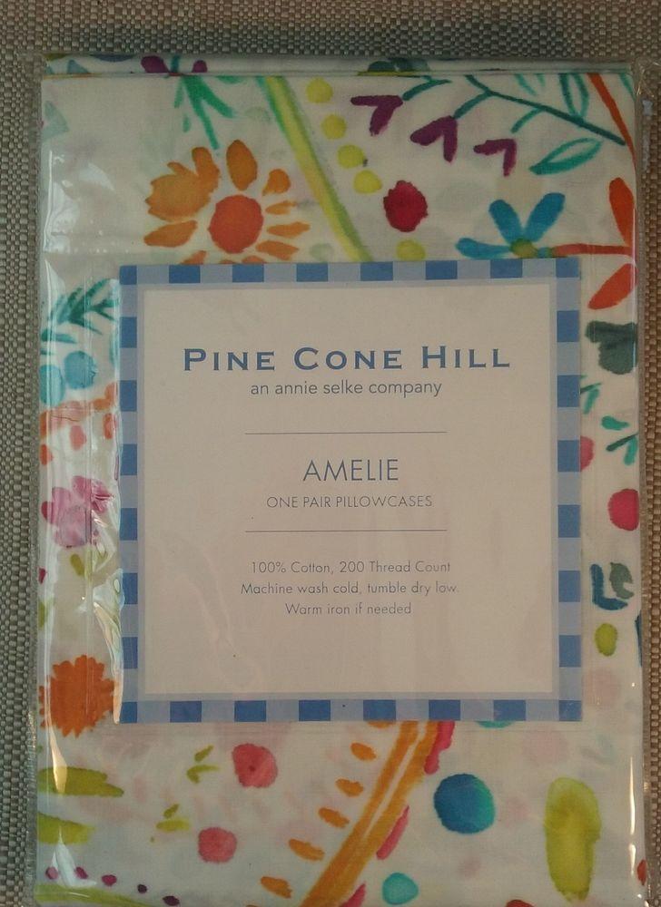 Pine Cone Hill Amelie Pillowcases Standard (PAIR)   Home & Garden, Bedding, Sheets & Pillowcases   eBay!
