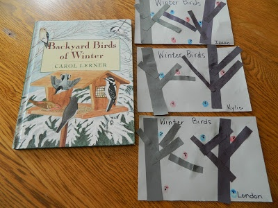 Like Mama ~ Like Daughter: Winter Birds Craft {Feb. 15-18 Join us for The Great Backyard Bird Count}