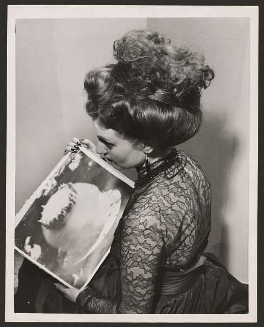 Atomic Bomb Hairdo | Retronaut - See the past like you wouldn't believe.