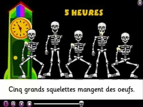 BABELZONE La chanson des squelettes - YouTube