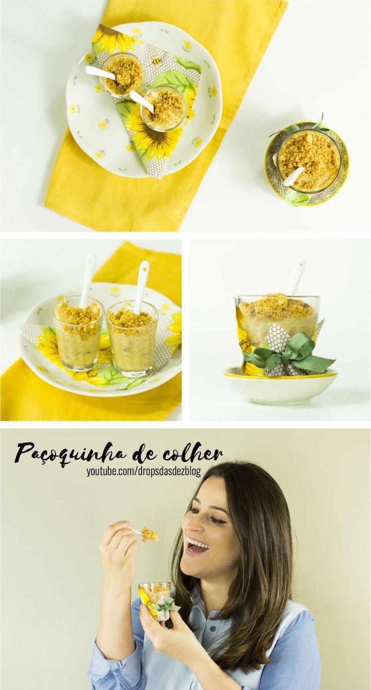 Como fazer paçoquinha de colher (Festa Junina) http://www.dropsdasdez.com.br/drops-video-2/como-fazer-pacoquinha-de-colher-festa-junina/