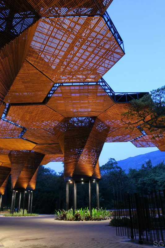 Botanical Garden (Jardin Botanico) in Medellin, Colombia,  by Plan B Arquitectos and JPRCR Arquitectos