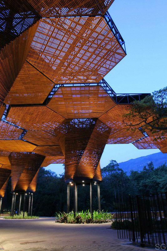 Botanical Garden (Jardin Botanico) in Medellin, Colombia,  by Plan B Arquitectos and JPRCR Arquitectos