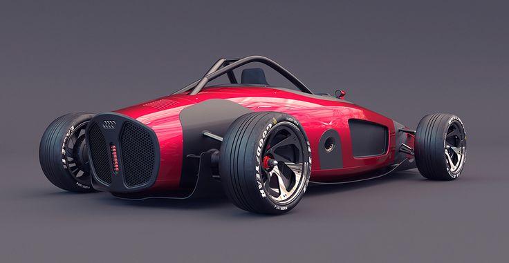 Audi Grand Prix Union Reborn | Yanko Design