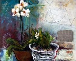 Artist Marina Louw