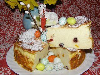 W Mojej Kuchni Lubię.. : pysznie aksamitny sernik pieczony bez spodu z more...